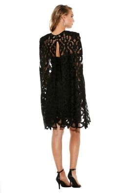 Thurley - Khalessi Cape Dress - Front - Black