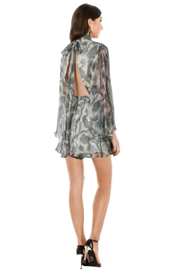 Zimmermann - Adorn Flare Sleeve Playsuit - Front