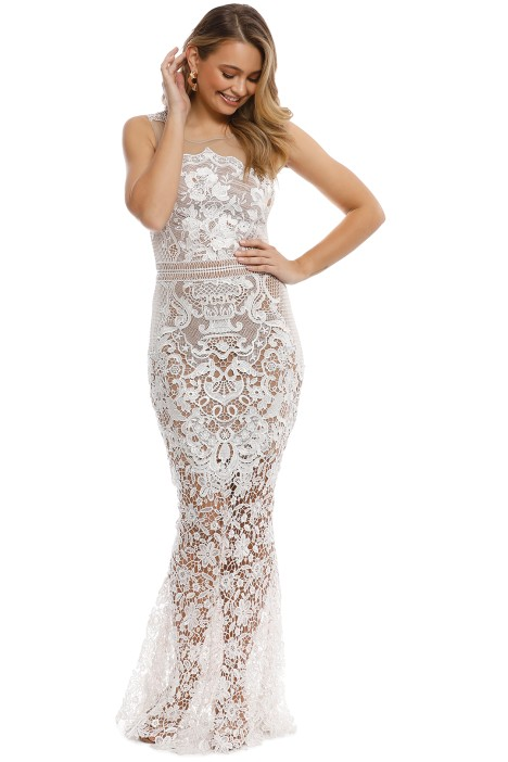 Grace & Hart - Renaissance Gown - White - Front
