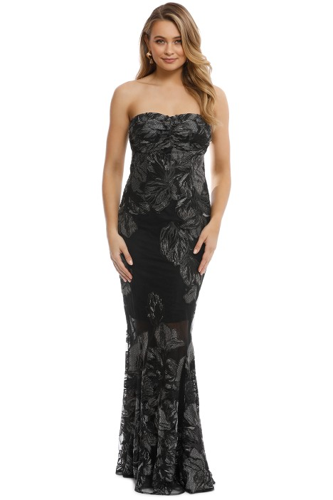 926905163ec Summer Glow Fitted Gown in Black by Grace   Hart for Rent
