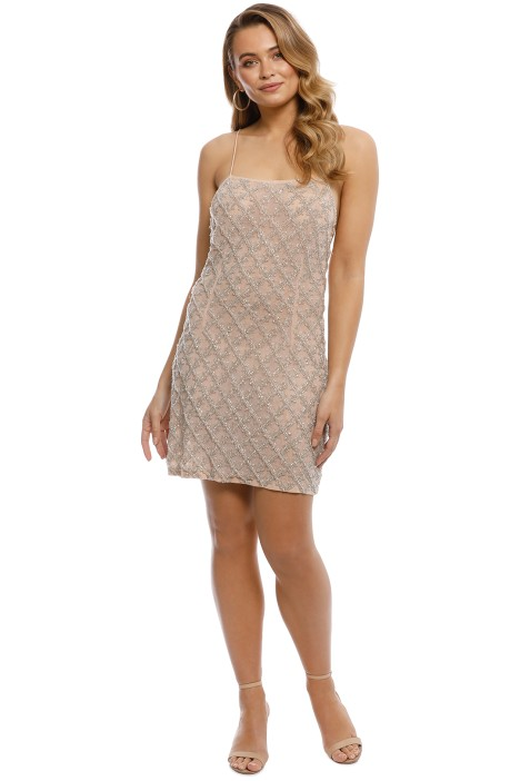 Madame X - Eima Dress - Nude - Front