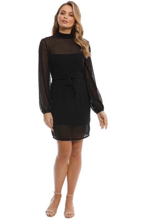 Misha Collection - Nadine Dress - Black - Front