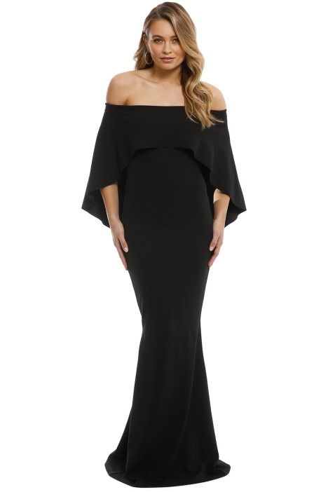 Composure Gown in Black by Pasduchas for Rent b0548503a
