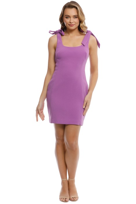 6aafb663412 Dahlia Mini Dress in Purple by Rebecca Vallance for Rent