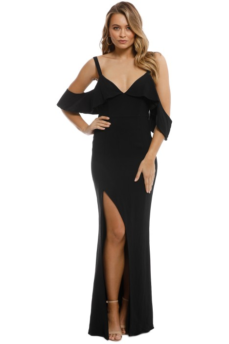 Talulah - Vanity Fair Gown - Black - Back