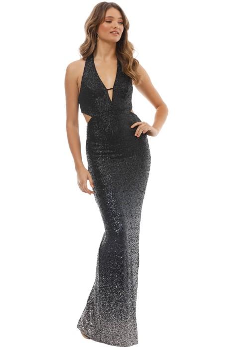 Ombre Sequin Gown by Allen Schwartz for Hire