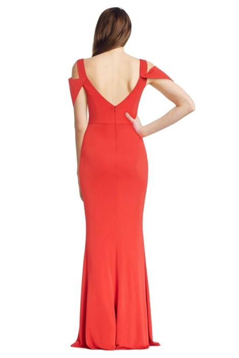 V-Neck Gown by ABS by Allen Schwartz for Hire | GlamCorner