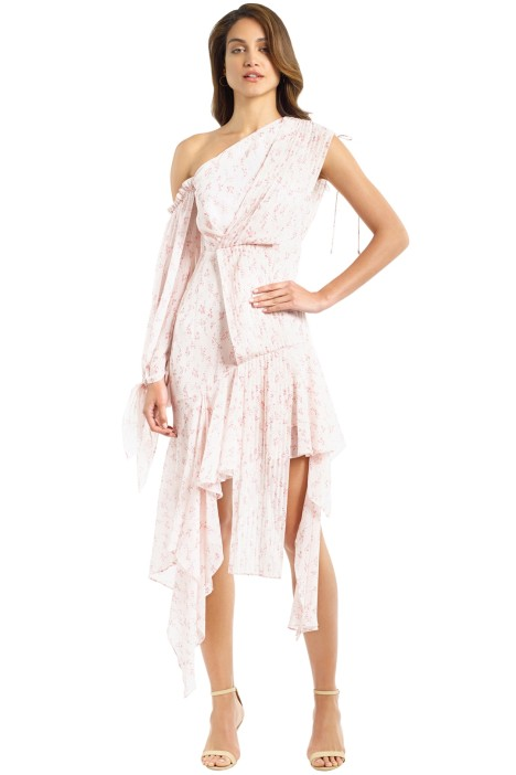 Acler - Aurora Rosewater Dress - Pink - Front