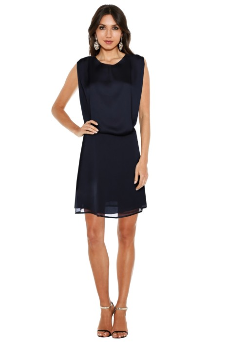 Acne - Marlow Blouson Dress - Black - Front