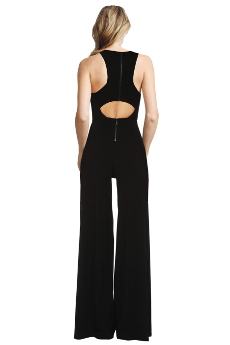 6be6d385075 Alice and Olivia - Judee Racer Back Jumpsuit - Back