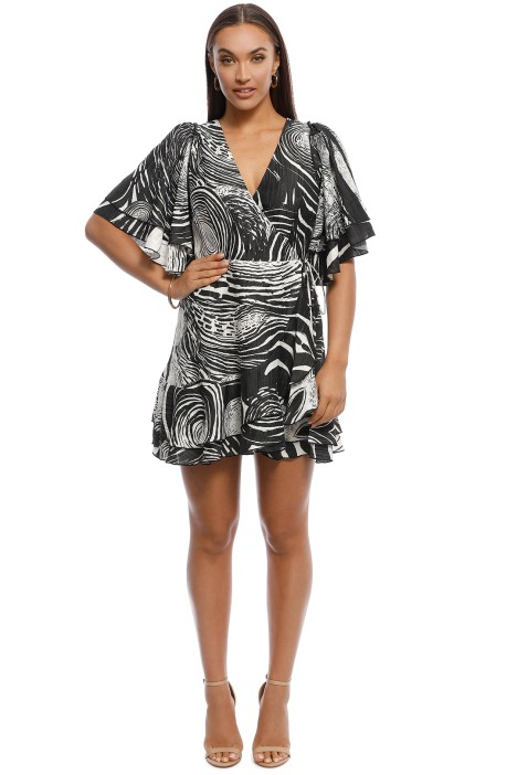 AJE - Esther Wrap Dress - Front