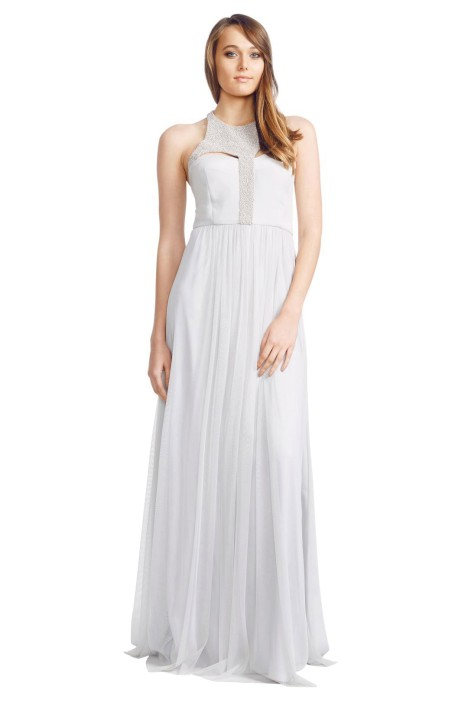 George - Arianne Gown - Front - Grey