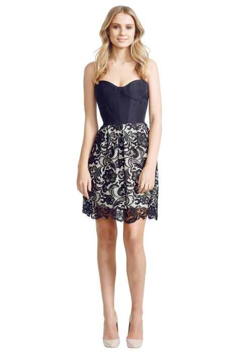Alex Perry - Veneta Dress - Black - Front