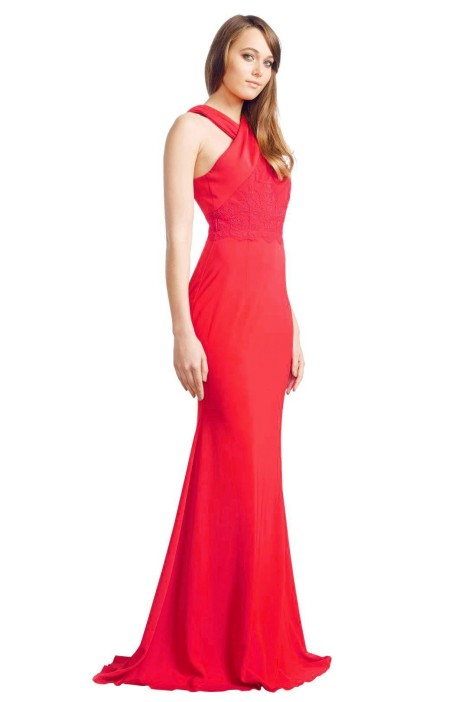 0878d847f027 Alex Perry - Aimee Gown - Red - Side