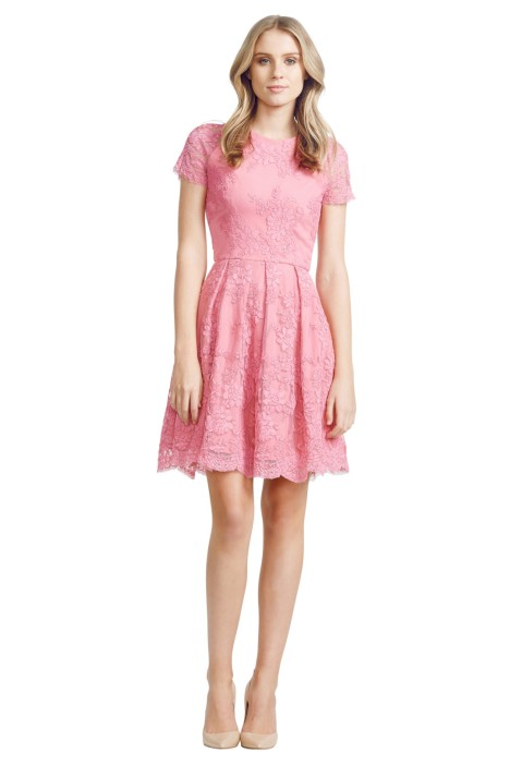 Alex Perry - Calais Dress - Front - Pink