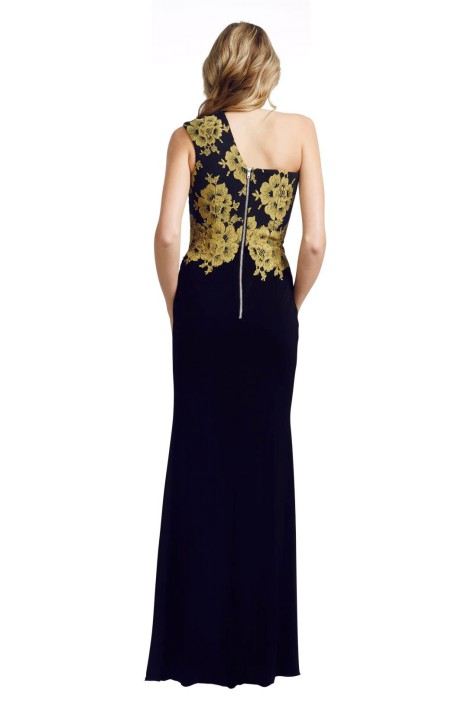 f547b24bbf4 Alex Perry - Darcelle Gown - Black - Back