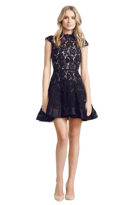 Alex Perry - Ellie Dress - Black - Front