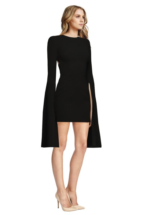 Alex Perry - Jade Dress - Side - Black