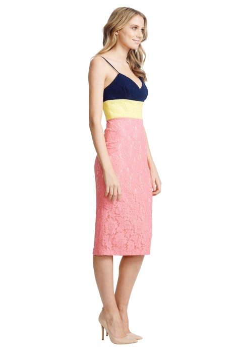 Alex Perry - Linda Dress - Pink - Side