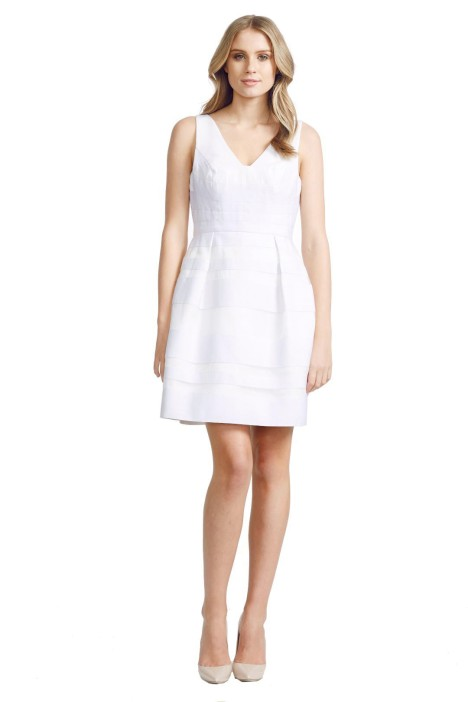 Alex Perry - Seraphina Dress - Front - White