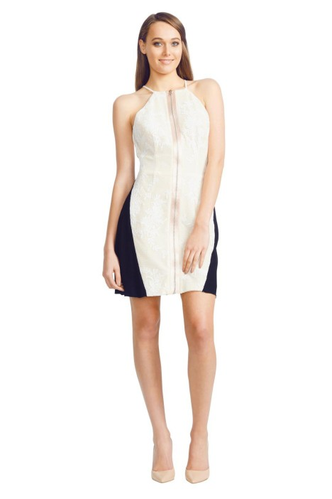 Alex Perry - Serena dress - Cream - Front