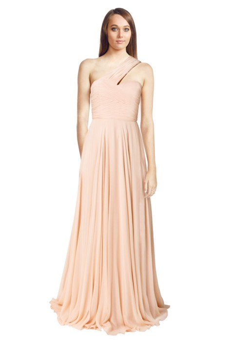 Alex Perry - Vittoria Gown - Blush - Front