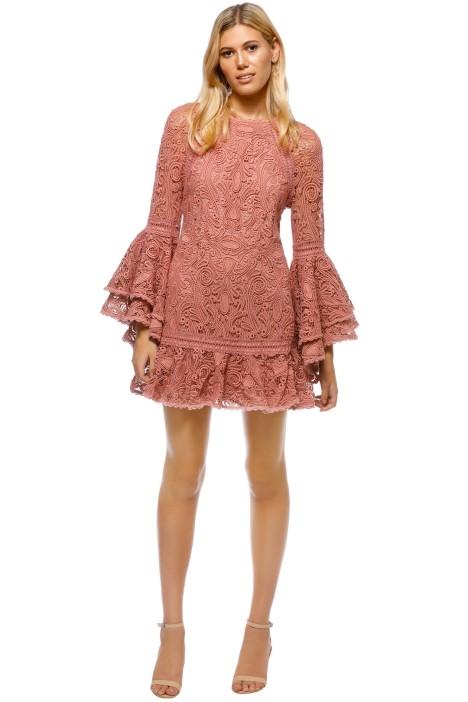 Alexis - Veronique Dress - Pink - Front