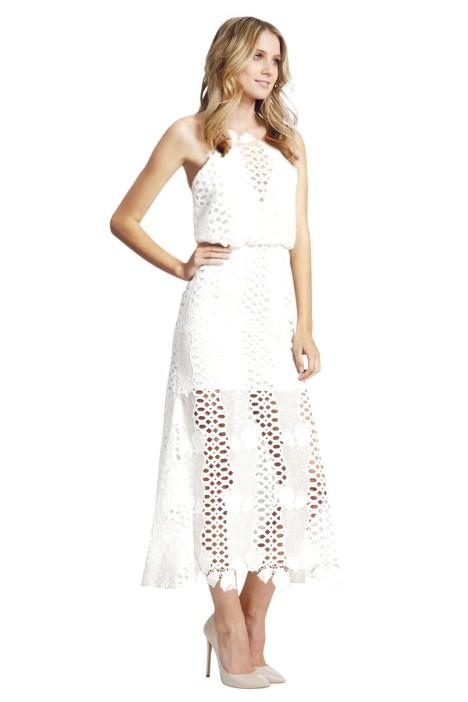 White Love Light Dress By Alice Mccall For Hire Glamcorner