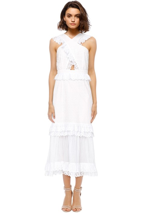 Alice McCall - Everything She Wants Dress - Porcelain White - Front