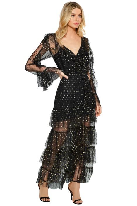 Alice McCall - Flamenco Dress - Black - Front