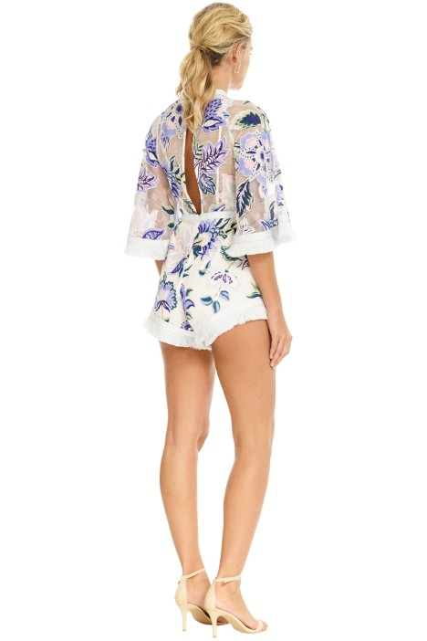 6fc10b6a24 Alice McCall - Georgie Boy Playsuit - White Thistle Print - Back.jpg