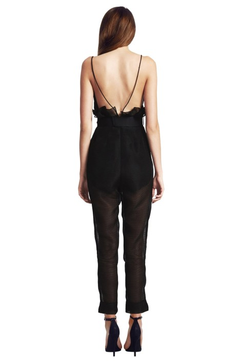 54f3a90eb21 Alice McCall - Justify My Love Jumpsuit - Black - Back