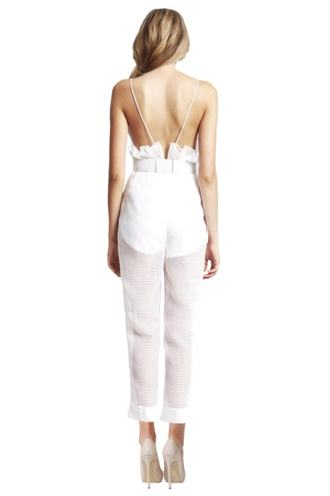 41d2209743c Alice McCall - Justify My Love Jumpsuit - White - Back