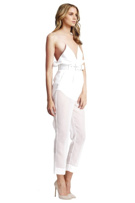 541be9959cd Alice McCall - Justify My Love Jumpsuit - White - Side