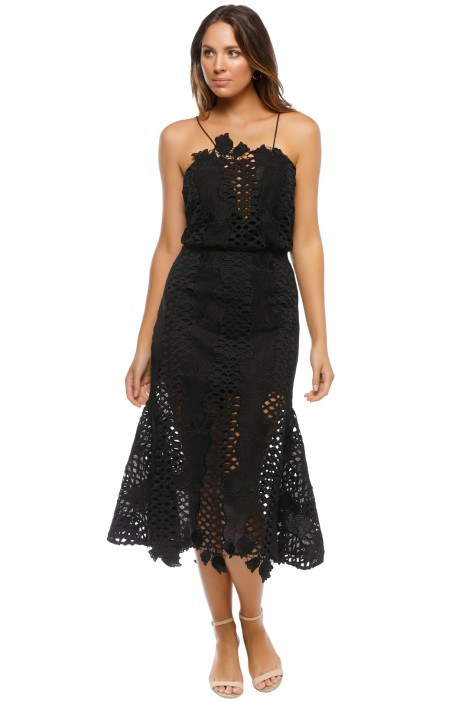 Alice McCall - Love Light Dress - Black - Front