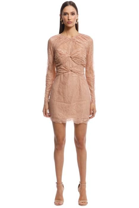 Alice McCall - Not Your Girl Dress - Blush - Front