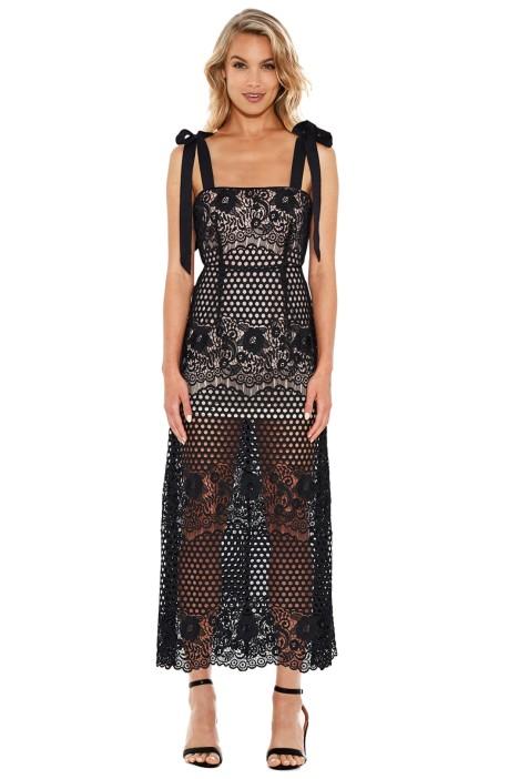 Alice McCall - Secret Lover Dress - Black - Front
