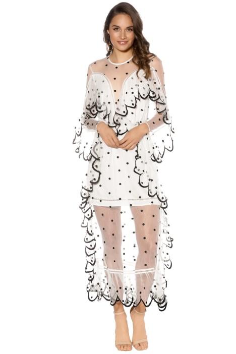 Alice Mc Call - Senorita Dress - White - Front