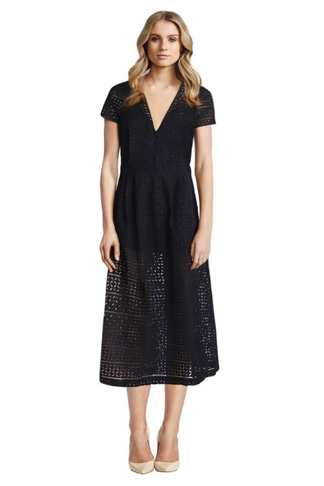 Alice McCall - Somebody to Love Dress - Front - Black