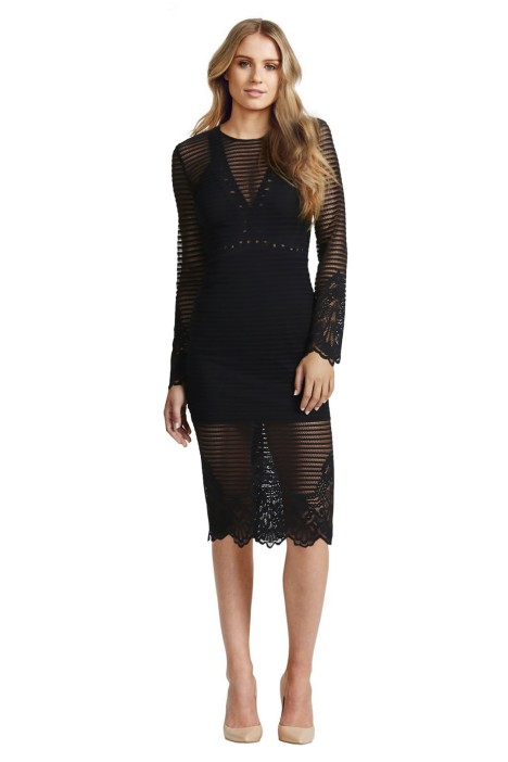 Alice McCall - There's No Other Way Dress - Front - Black