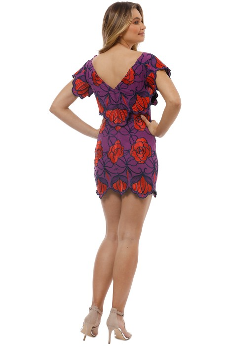 1fb1cf7d47 Ms Rose Dress in Violet by Alice McCall for Hire