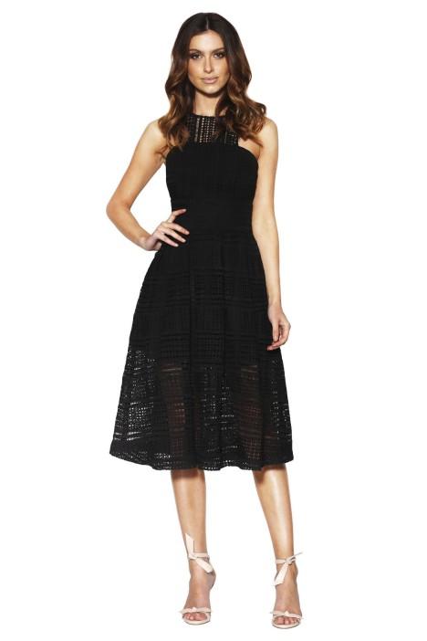 Grace & Hart - Allure Floaty Dress - Black - Front