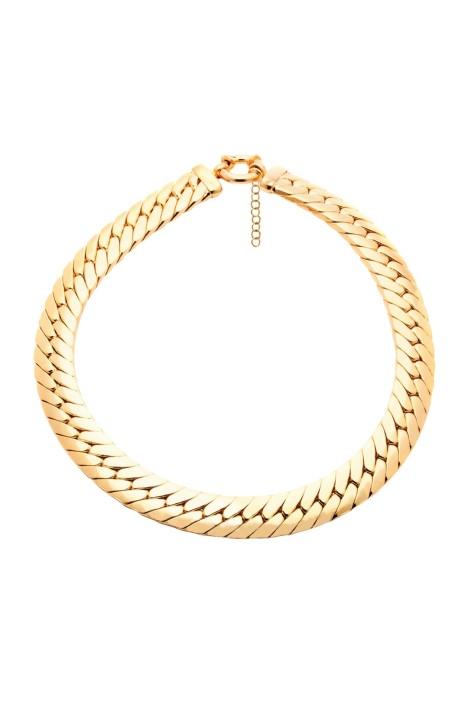 Amber Sceats - Kaia Choker - Gold - Front