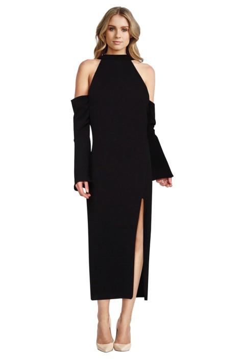 Backstage - Maribella Dress - Black - Front