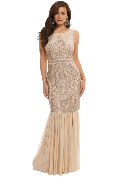 7700f685866 Beaded Gown by Badgley Mischka for Rent