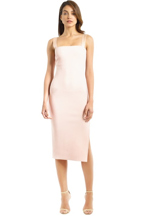 Bec and Bridge - Marvellous Tie Dress - Peach - Front
