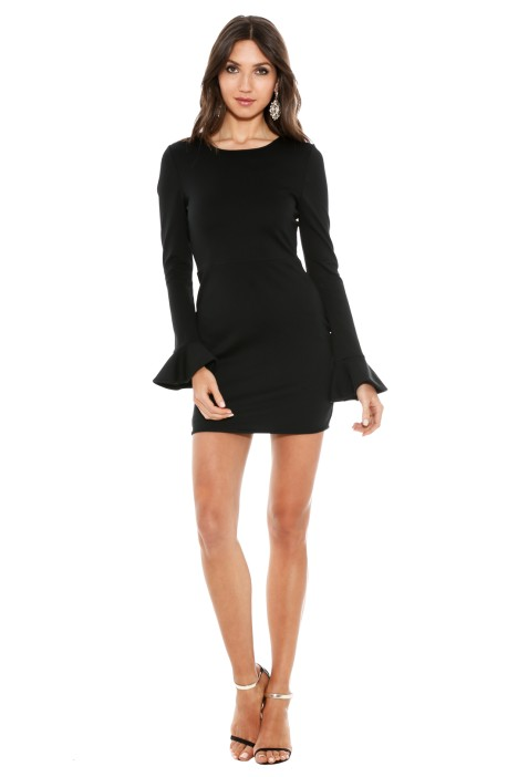Black Halo - Black Hampton Dress - Side
