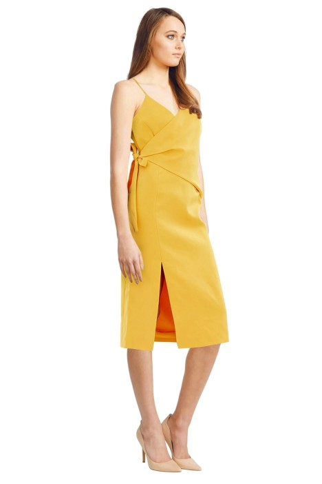 C/MEO Collective - Better Things Dress - Yellow - Side