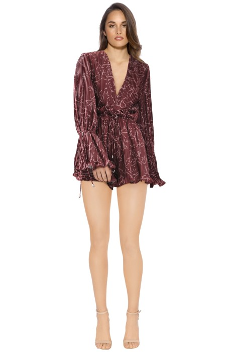 Cameo - Dream Chaser Playsuit - Desert Rose - Front