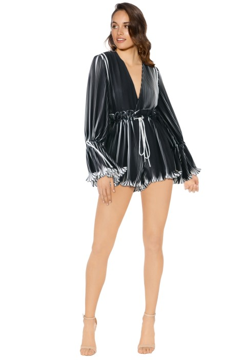 Cameo - Dream Chaser Playsuit - Stripe - Front